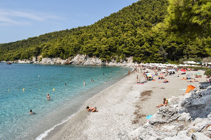 Beaches in Skopelos