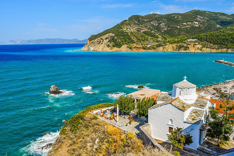 Destinations in Skopelos