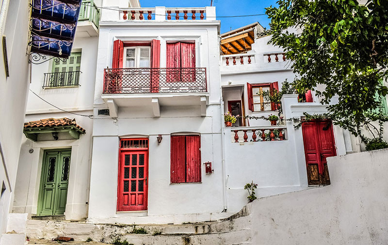 Old Town of Skopelos