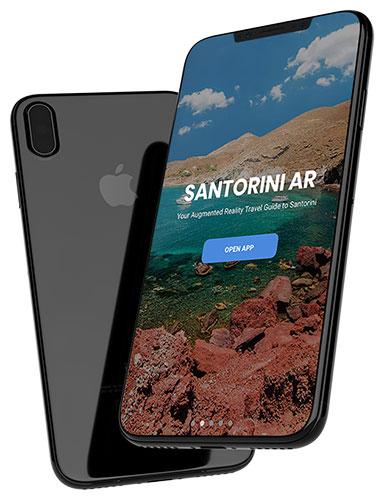 Santorini AR - Augmented Reality app