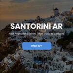 Santorini AR App Screenshot 1