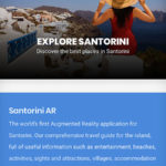 Santorini AR App Screenshot 2