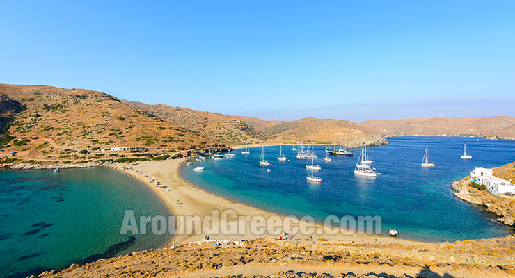 Holidays in Kythnos Island Travel Guide Greece