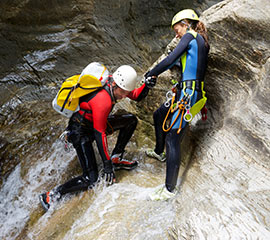 Canyoning in Greece