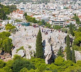 Areopagus in Athens