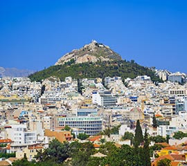 Lycabettus Hill in Athens