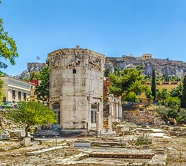 Tower of the Winds in Athens