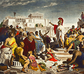 The Peloponnesian Wars of Greece